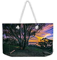 A Swinging Sunset From The Secret Swings Of La Jolla Weekender Tote Bag