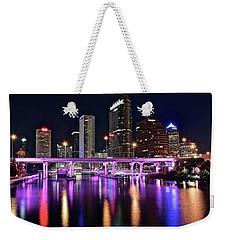 A Tampa Night Weekender Tote Bag