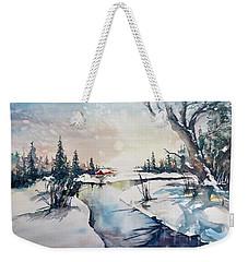 A Taste Of Winter Weekender Tote Bag