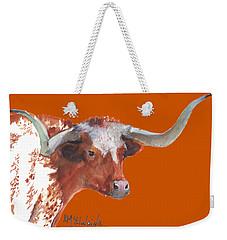A Texas Longhorn Portrait Weekender Tote Bag