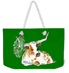 A Texas Welcome Christmas Weekender Tote Bag