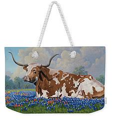 A Texas Welcome Weekender Tote Bag