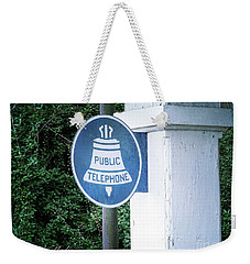 Weekender Tote Bag featuring the photograph A Thing Of The Past by Melissa Messick
