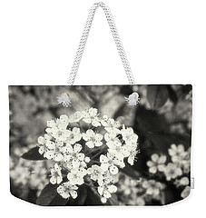 A Thousand Blossoms In Sepia 3x4 Flipped Weekender Tote Bag