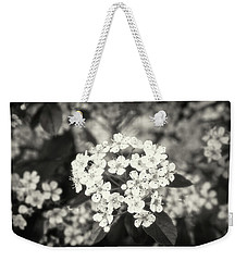 A Thousand Blossoms Sepia 3x2 Weekender Tote Bag