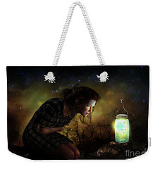 Weekender Tote Bag featuring the digital art A Thousand Hugs by Shanina Conway