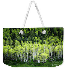 A Thousand Shades Of Green Weekender Tote Bag