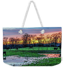 A Time For Reflection Weekender Tote Bag by Jeffrey Friedkin
