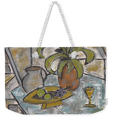 A Toast To Tranquility Weekender Tote Bag by Trish Toro