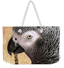 Weekender Tote Bag featuring the photograph A Touch Of Grey 11 by Betty LaRue