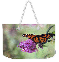 A Touch Of Spring Weekender Tote Bag by Laurinda Bowling