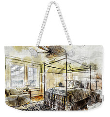 A Traditional Bedroom Weekender Tote Bag