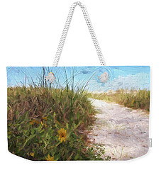 A Trail To The Beach Weekender Tote Bag