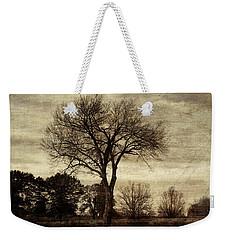 A Tree Along The Roadside Weekender Tote Bag