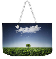 A Tree Covered With Cloud Weekender Tote Bag