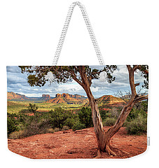 A Tree In Sedona Weekender Tote Bag