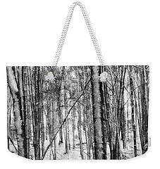 A Tree's View In Winter Weekender Tote Bag