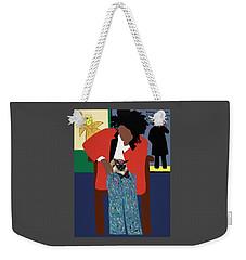 A Tribute To Jean-michel Basquiat Weekender Tote Bag