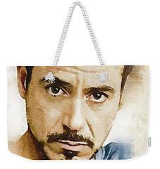 A Tribute To Robert Downey Jr. Weekender Tote Bag