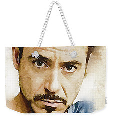 A Tribute To Robert Downey Jr. Weekender Tote Bag
