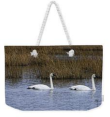 A Trio Of Swans Weekender Tote Bag