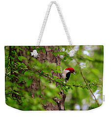 A True Red Head Weekender Tote Bag
