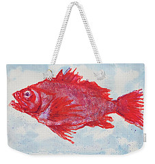 A Truly Red Snapper, Seafood Weekender Tote Bag