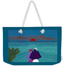 A Turks And Caicos Sunset Weekender Tote Bag