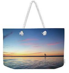 A Twilight Beach Walk Weekender Tote Bag