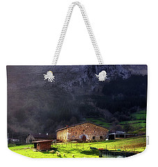 A Typical Basque Country Farmhouse With Sheep Weekender Tote Bag
