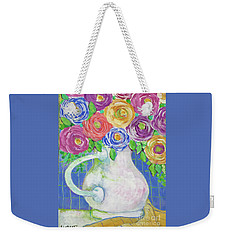 A Vase Full Of Happiness Weekender Tote Bag