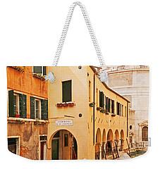 A Venetian View - Sotoportego De Le Colonete - Italy Weekender Tote Bag by Brooke T Ryan