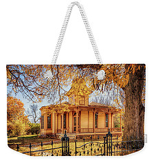 Weekender Tote Bag featuring the photograph A Victorian Autumn by Susan Rissi Tregoning