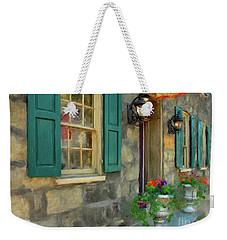 A Victorian Tea Room Weekender Tote Bag