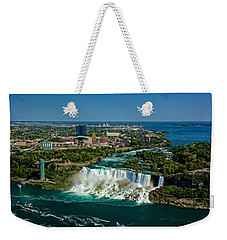 A View From The Top Weekender Tote Bag