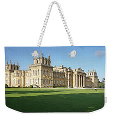 Weekender Tote Bag featuring the photograph A View Of Blenheim Palace by Joe Winkler