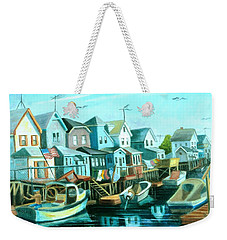 A View Of Ramblesville Weekender Tote Bag