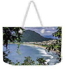 A View Of The Beach Weekender Tote Bag