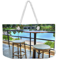 A View Of The Lake Weekender Tote Bag