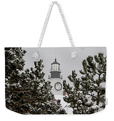 A View Of The Portland Head Light Weekender Tote Bag
