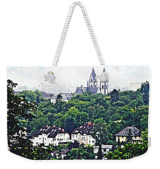 A View Of Wiesbaden Weekender Tote Bag by Sarah Loft