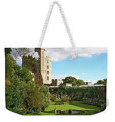Weekender Tote Bag featuring the photograph A View Of Windsor Castle by Joe Winkler