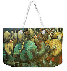 A Viking Skirmish Weekender Tote Bag
