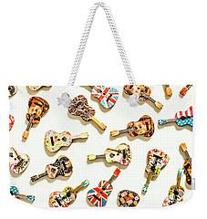 A Visual Play In Music Weekender Tote Bag