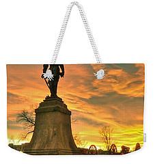 A Vmi Sunset Weekender Tote Bag