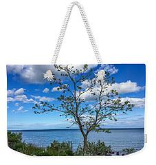 A Walk Along Lake Michigan Weekender Tote Bag
