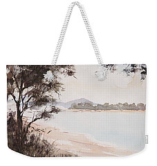 A Walk Along The Riverside Weekender Tote Bag