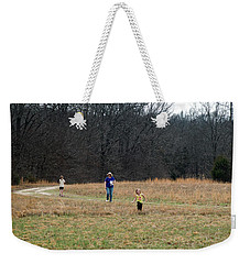 A Walk In A Field Weekender Tote Bag