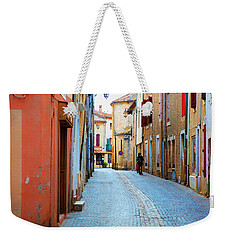 A Walk In A French Village Weekender Tote Bag by Hugh Smith