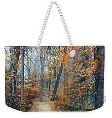A Walk In November Weekender Tote Bag